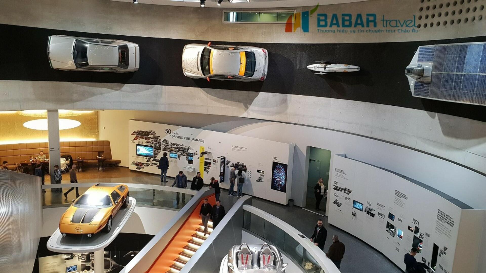 Bảo tàng Mercedes-Benz  - Bảo tàng ẩn chứa 100 năm lịch sử của các mẫu xe