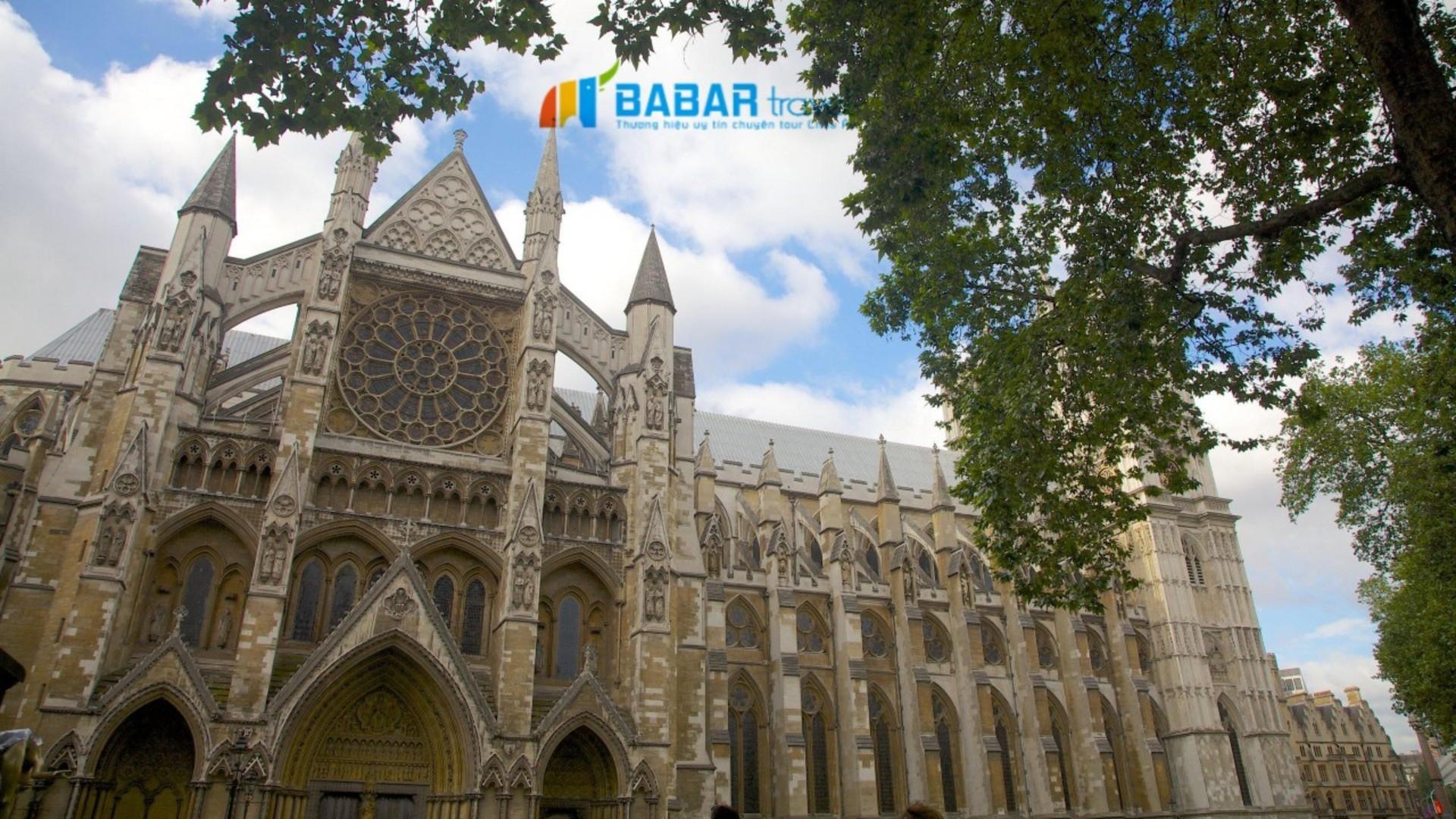 Tu viện Westminsterr - Tu viện thể hiện sự uy quyền của nước Anh